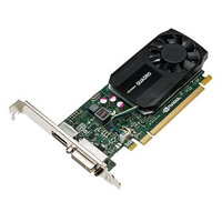 NVIDIA Quadro K620 2GB DDR3, PCIe Card, 1x DVI-I (dual link), 1x display port(DP to DVI adapter included)