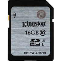 Kingston SDHC 16GB (UHS-1) 45MB/s (SD10VG2/16GB)