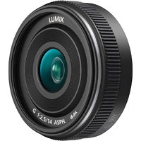Panasonic Lumix G pancake 14 mm F2.5 ASPH
