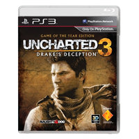 Sony PlayStation 3 Uncharted 3 Drake's Deception GOTY s DLC SONPS719206446