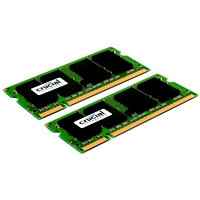 CRUCIAL 4GB=2x2GB DDR2 SO-DIMM 667MHz PC2-5300 CL5 1.80V
