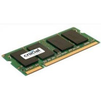 CRUCIAL 4GB=2x2GB DDR2 SO-DIMM 800MHz PC2-6400 CL6 1.80V