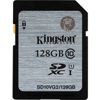 Kingston SDXC 128GB (UHS-1) 45MB/s (SD10VG2/128GB)