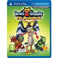 Sony PS VITA Invizimals: The Resistance (PS719805519) PS719805519
