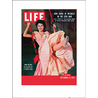 PYRAMID Print Time Life - Life Cover - Joan Collins , (60 x 80 cm)