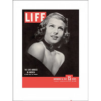 PYRAMID Print Time Life - Life Cover - Rita Hayworth , (60 x 80 cm)