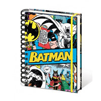 PYRAMID DC Comics A5 notebook - Batman Retro