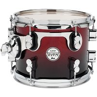 """PDP 8"""" Concept Maple Red to Black Fade"""