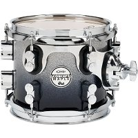 """PDP 8"""" Concept Maple Silver to Black Fade"""
