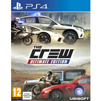 Ubisoft The Crew: Ultimate edition / PS4