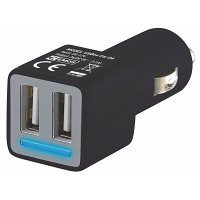Adaptér do auta Emos 2xUSB 4.2 A BENV0224