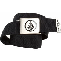 Volcom Opasek Circle Web Belt Black D5911450-BLK