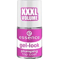 Essence Gel Look Plumping Top Coat krycí lak na nehty 8 ml