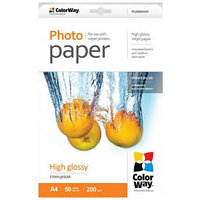 ColorWay high glossy 200g/m2, A4/ 50ks (PG200050A4) PG200050A4