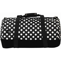 Batoh MI-PAC - Duffel All Polka Blk/White-Blk (100) velikost: OS 740607 F15 100_OS