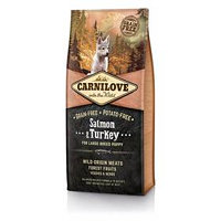 Brit Carnilove Salmon & Turkey for Large Breed Puppies 12 kg