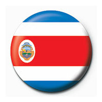 POSTERS Placka Flag - Costa Rica