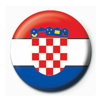 POSTERS Placka Flag - Croatia