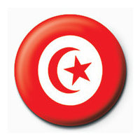 POSTERS Placka Flag - Tunisia