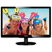 Philips LCD 226V4LAB/00, 21.5'' LED, 5ms, DC 10mil.:1, DVI,repro, 1920x1080, č