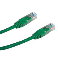 DATACOM Patch kabel UTP CAT5E 7m zelený