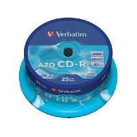 Verbatim CD-R AZO Crystal (43352) 43352