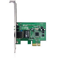 TP-LINK, 32-bit Gigabit PCIe Network Adapter, Realtek RTL8168B, 10/100/1000Mbps Auto-Negotiation RJ45 port, Auto MDI/MD