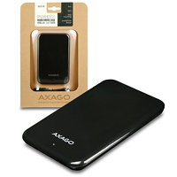 "AXAGON - EE25-PB USB2.0 - SATA 2.5"" externí PURE box BLACK"