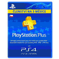 SONY PlayStation Plus Cards 90 dní (CZE)