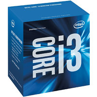 Intel Core i-3 processor Skylake i3-6100T 3,20 GHz/LGA1151/3MB cache