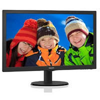 "Philips LCD 223V5LHSB2 21,5""wide/1920x1080/5ms/10mil:1/HDMI/LED"