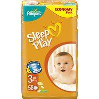 PAMPERS Sleep&Play Midi 4-9kg 58ks 002100056