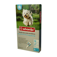 Advantix pro psy spot.on.od 4 do 10kg a.u.v.4x1 ml 2369537