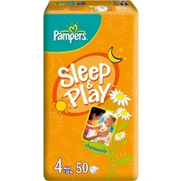 PAMPERS Sleep&Play Maxi 7-18kg 50ks