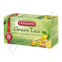 TEEKANNE Green Tea Ginger Lemon n.s.20x1.75g 2886514