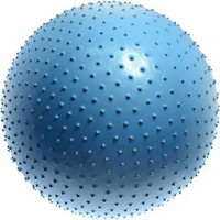 LIFEFIT gymnastický MASSAGE BALL 75 cm modrý