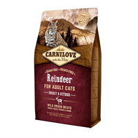 Carnilove Reindeer for Adult Cats – Energy & Outdoor 2 kg