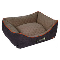 Scruffs Thermal Box Bed hnědý vel. S