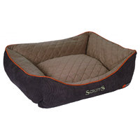 Scruffs Thermal Box Bed hnědý vel. M