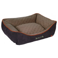 Scruffs Thermal Box Bed hnědý vel. L