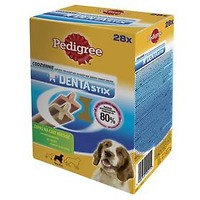 Pochoutky PEDIGREE DENTA Stix medium, 28 ks