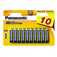 Panasonic AA, R06 ALKALINE POWER, BLISTR 10 KS