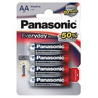 Panasonic AA, LR6, Everyday, blistr 4ks