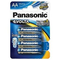 Panasonic AA, LR6, Evolta, blistr 4ks