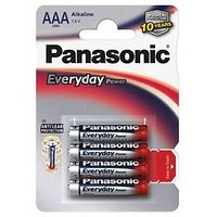 Panasonic AAA, LR03, Everyday, blistr 4ks