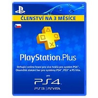 Sony Playstation Plus Card 90 dnů (PS719245896)
