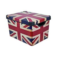 Úložný box Curver British Flag vel. L