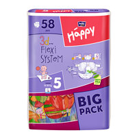 Bella HAPPY Junior Big Pack dětské pleny 58 ks