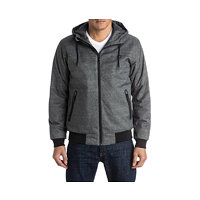 Quiksilver Bunda Brooks5k Jckt Dark Grey Heather EQYJK03241-KTFH M