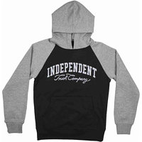 Mikina INDEPENDENT - Letterman Black/Dark Heather (BLACK/DARK HEATHER) velikost: INAYHD-011 F16 BLACK/DARK HEAT_10-12 yrs